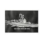 USS CLAUD JONES Rectangle Magnet (100 pack)
