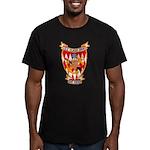 USS CLAUD JONES Men's Fitted T-Shirt (dark)