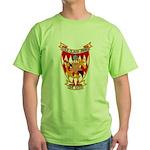 USS CLAUD JONES Green T-Shirt