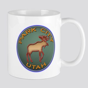 Park City Moose Designs Mug