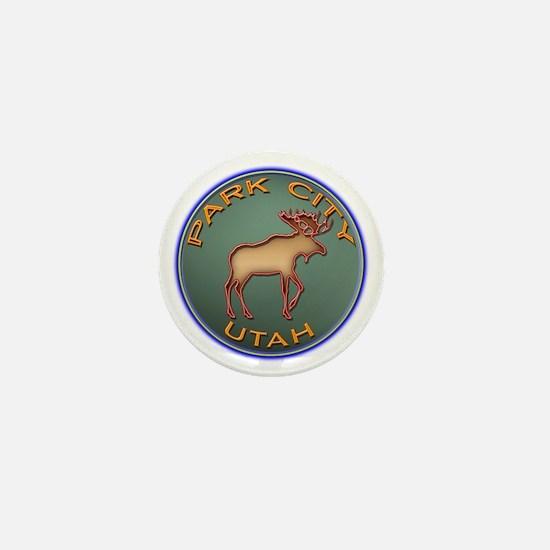 Park City Moose Designs Mini Button