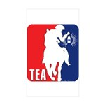 Tea Party Paul Revere Logo Rectangle Sticker 10 p