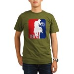 Tea Party Paul Revere Logo Organic Men's T-Shirt (