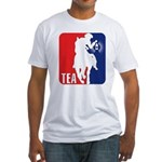 Tea Party Paul Revere Logo Fitted T-Shirt