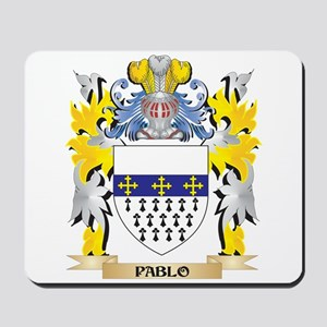 Pablo Family Crest - Coat of Arms Mousepad