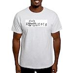 Nerdcore Ash Grey T-Shirt