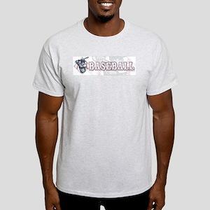 Retro Baseball Batter Light T-Shirt