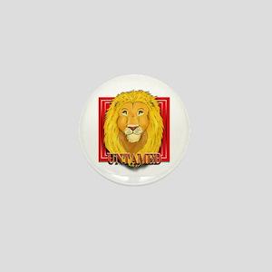 Untamed Lion Mini Button