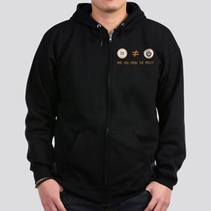 areufrompastblack Sweatshirt