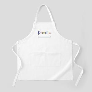 Poodle Google Spoof Apron