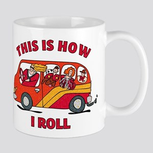 How I Roll Mom Minivan Mug