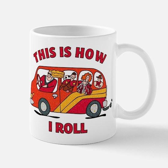 How I Roll Mom Minivan Mug