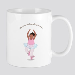 Practice Makes Perfect Pirouettes Mug
