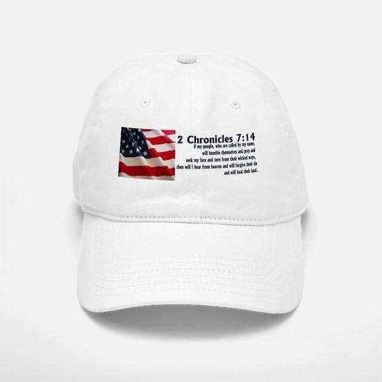 2 Chronicles 7:14 Baseball Baseball Cap