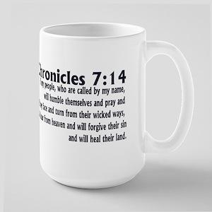2 Chronicles 7:14 Large Mug