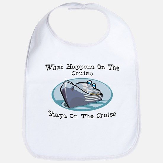 Happens On The Cruise Bib