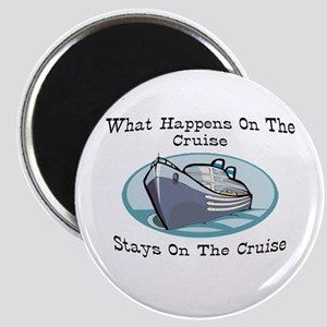 Happens On The Cruise Magnet