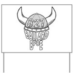 Ballard Lodge Logo Yard Sign