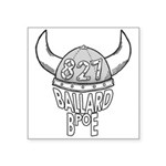 Ballard Lodge Logo Square Sticker 3