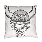 Ballard Lodge Logo Everyday Pillow