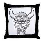 Ballard Lodge Logo Throw Pillow