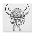 Ballard Lodge Logo Tile Coaster