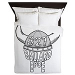 Ballard Lodge Logo Queen Duvet