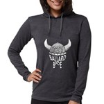 Ballard Lodge Logo Womens Hooded Shirt