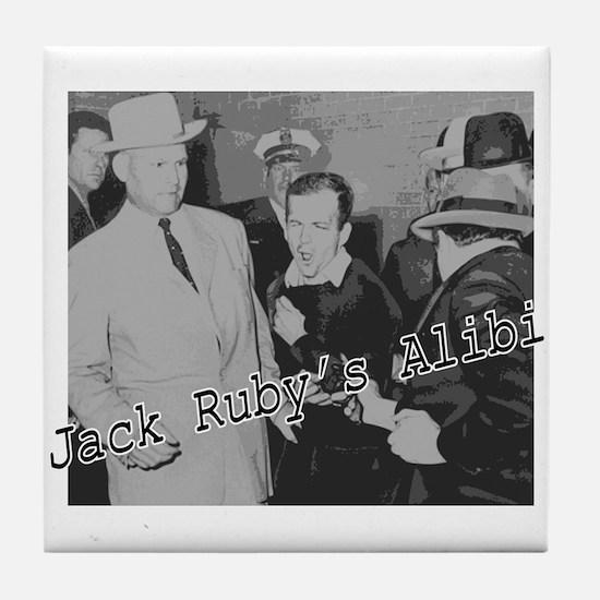Jack Ruby's Alibi Tile Coaster