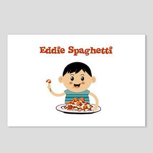 Eddie Spaghetti Postcards (Package of 8)