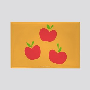 MLP Applejack Cutie Mark Rectangle Magnet