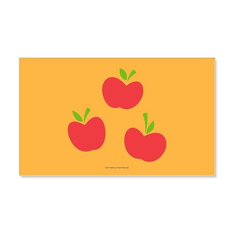 mlp applejack cutie mark wall decalmylittlepony