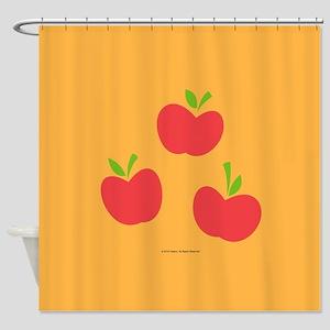 MLP Applejack Cutie Mark Shower Curtain