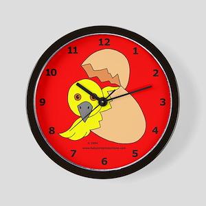Baby Bird Wall Clock