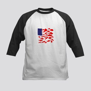 FREEDOM FISH Baseball Jersey