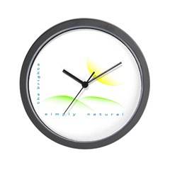 Simply Natural Wall Clock