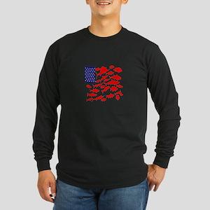 FREEDOM FISH Long Sleeve T-Shirt