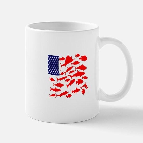 FREEDOM FISH Mugs