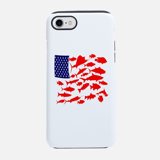FREEDOM FISH iPhone 7 Tough Case