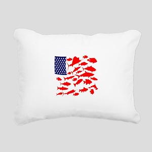 FREEDOM FISH Rectangular Canvas Pillow