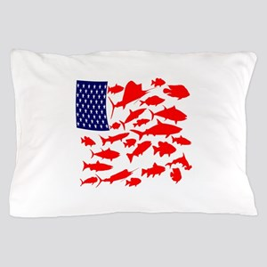 FREEDOM FISH Pillow Case