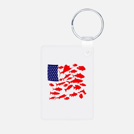 FREEDOM FISH Keychains