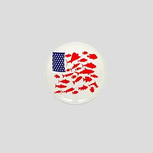FREEDOM FISH Mini Button