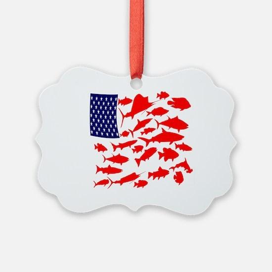 FREEDOM FISH Ornament