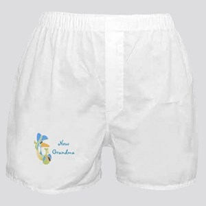 New Grandma (blue) Boxer Shorts