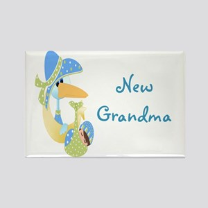 New Grandma (blue) Rectangle Magnet