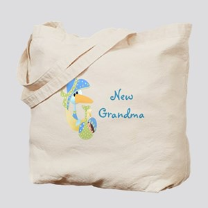 New Grandma (blue) Tote Bag