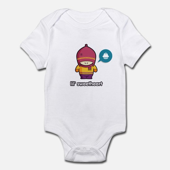 Sweetheart PNK-PUR Infant Bodysuit
