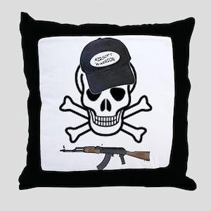 AIRSOFT WARRIOR Throw Pillow