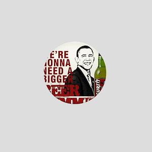 Barry Brew Anti-Obama Mini Button